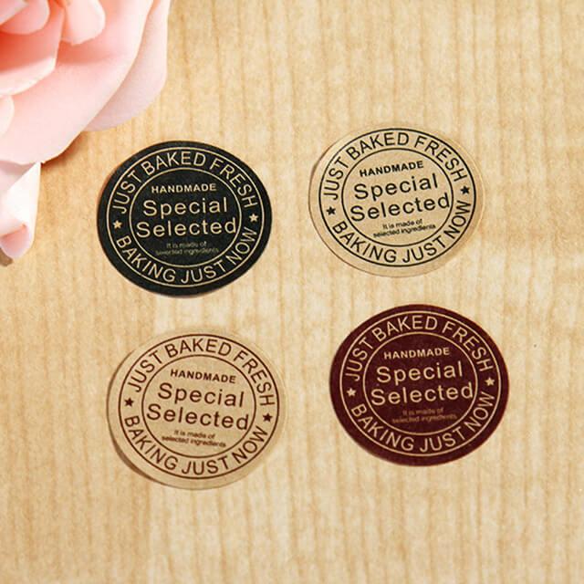 In tem kraft có mức giá thấp, in ấn dễ dàng, nhanh chóng