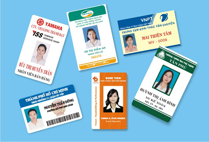 dịch vụ in thẻ nhân viên