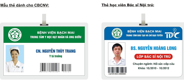 mẫu in thẻ nhân viên