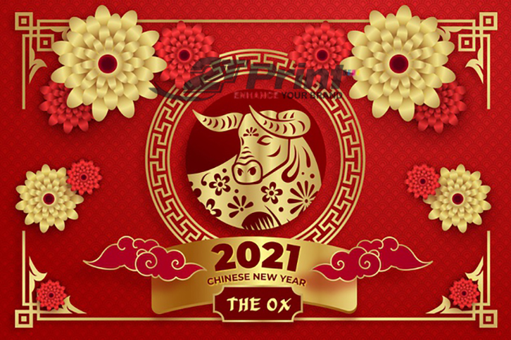 mẫu thiệp chúc mừng năm mới 2021 ấn tượng