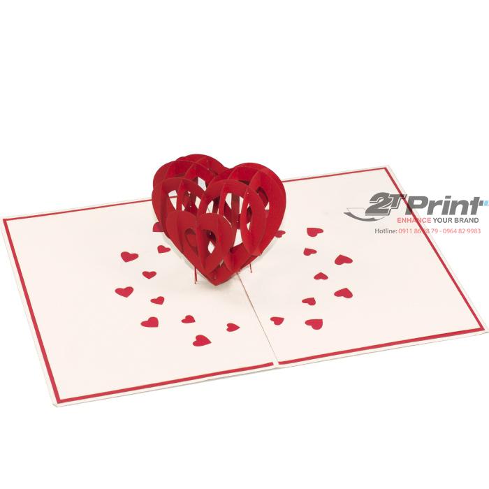 mẫu in thiệp cưới 3D