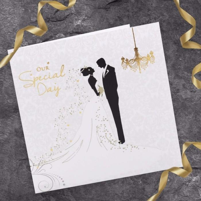 Mẫu thiệp cưới in hình đẹp của Xưởng in 2T