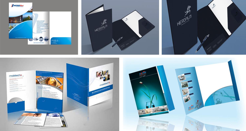 Thiết kế folder, kẹp file tiết kiệm chi phí