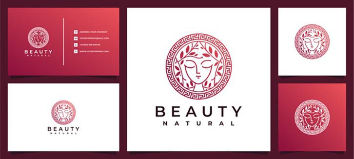mẫu thiết kế logo spa mềm mại