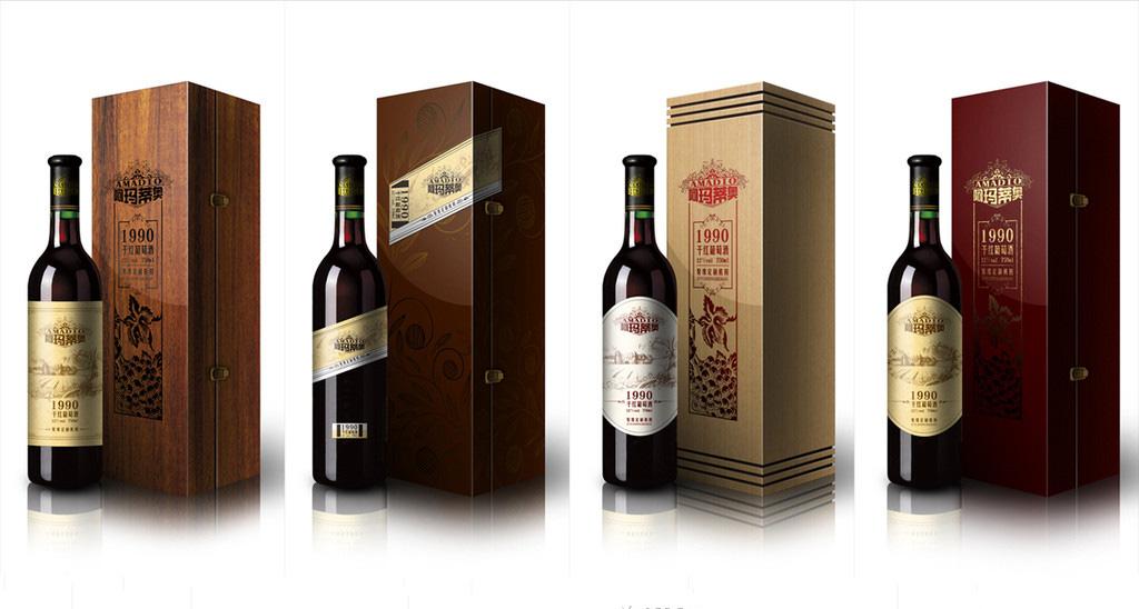 thiết kế tem nhãn sản phẩm rượu