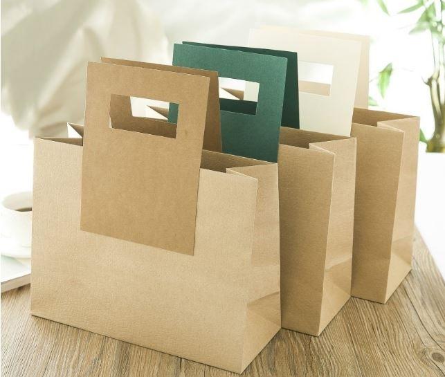 Túi giấy Kraft tiện lợi, thân thiện với môi trường
