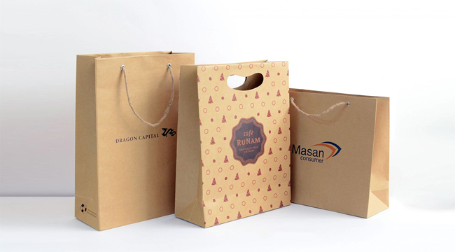 Túi giấy bảo vệ môi trường.
