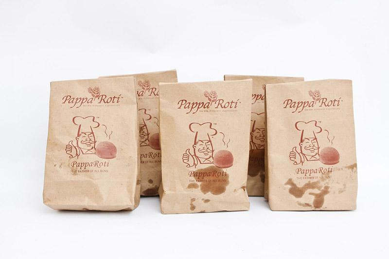Sử dụng túi giấy đựng thực phẩm chuyên nghiệp hơn.