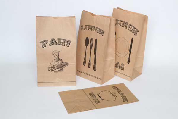 Ngày càng nhiều doanh nghiệp cửa hàng sử dụng túi giấy thực phẩm