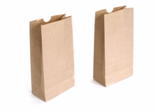Túi giấy nâu nhẹ, bền, cứng, bảo vệ tối đa sản phẩm