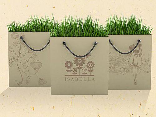 Sử dụng túi giấy tái chế đang được xem như xu hướng của tương lai