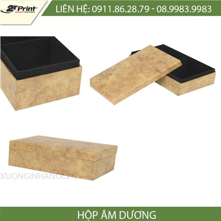 mẫu hộp carton cao câp dạng khép kín