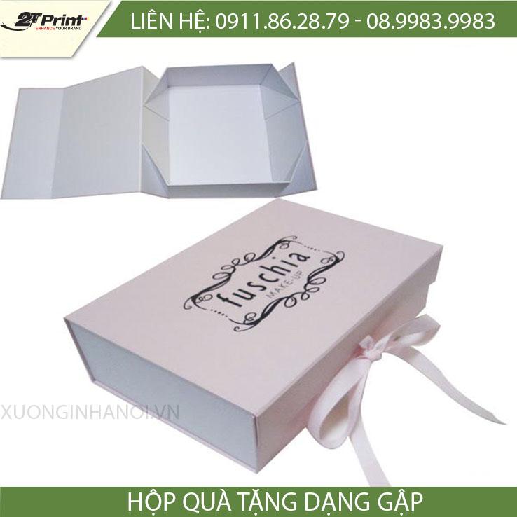 mẫu hộp carton cao cấp dạng gấp