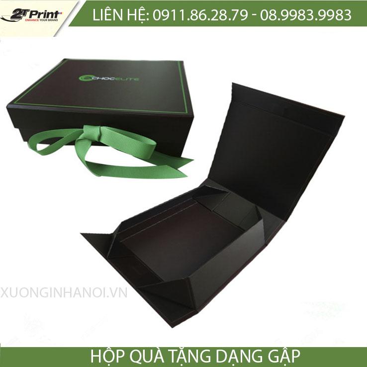 mẫu hộp carton cao cấp dạng folder