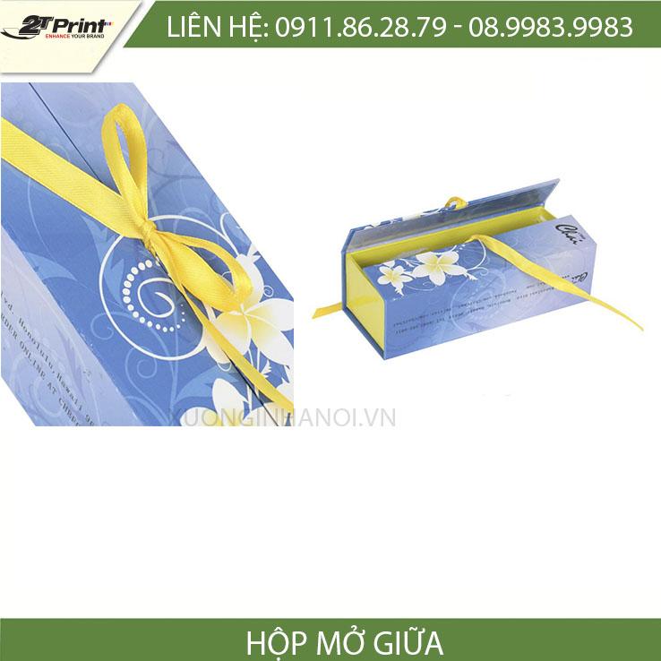 mẫu hộp carton cao cấp dạng mở