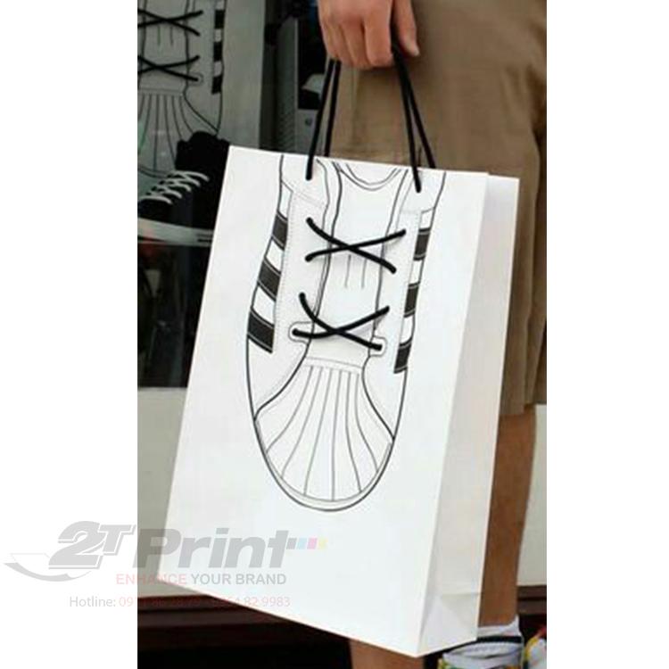 giá in túi giấy đựng giày giá rẻ