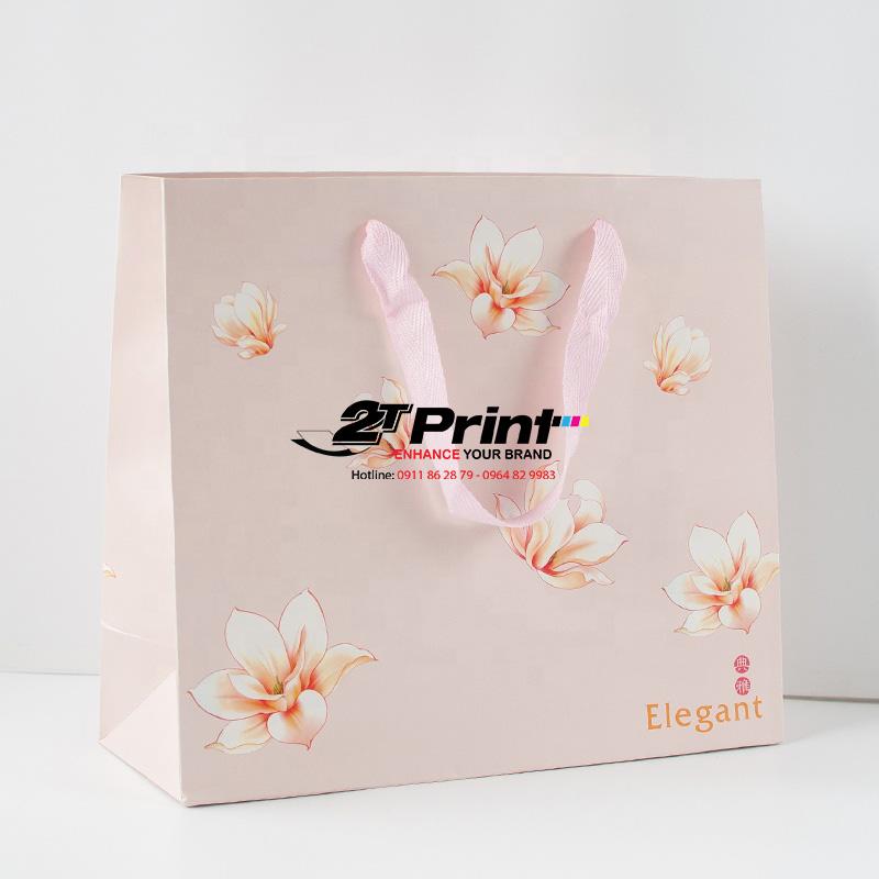 mẫu in túi giấy đựng mỹ phẩm