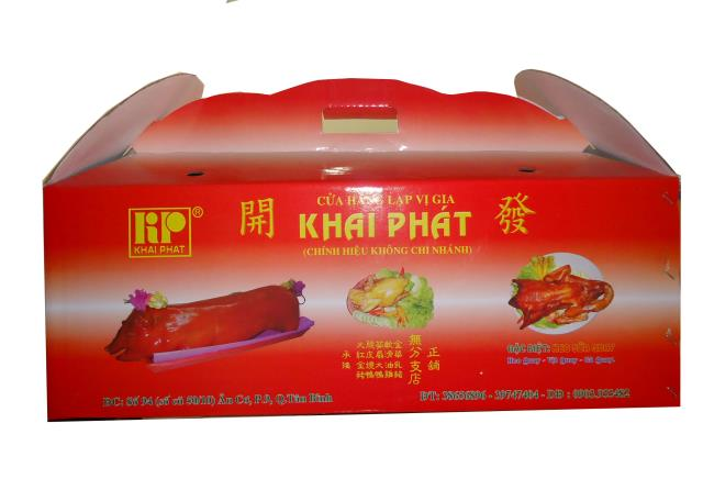 in hộp carton 3 lớp bồi offset